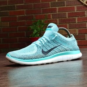NIKE FREE RUN FLYKNIT 4.0 SHOES SZ 11